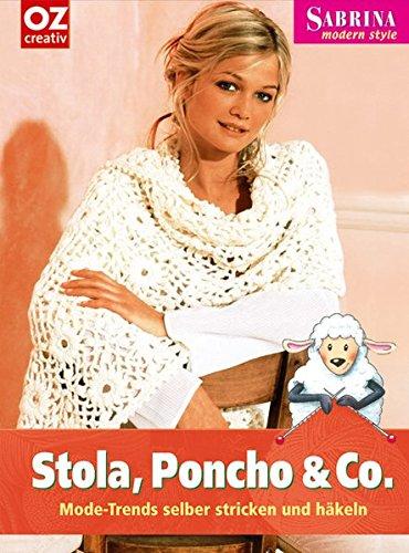 Stola, Poncho & Co: Mode-Trends selber stricken und häkeln
