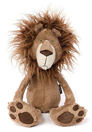 sigikid, Stofftier für Erwachsene und Kinder, Löwe, Brave Hair, BeastsTown, Braun, 38715