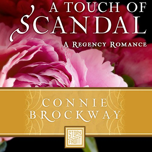 A Touch of Scandal audiobook cover art