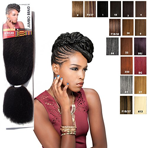 Sensationnel JUMBO BRAID - African Collection - Bulk (BG (bugundy))