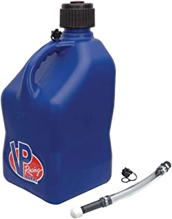 VP Racing Square Utility Jug with Deluxe Jug Tube 5 Gallons (Blue)