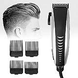 El corte tijeras de pelo de la herramienta cortadora de cabello 9-en-1 Profesional de pelo eléctrico del condensador de ajuste Set Hombres barba Trimmer barba Trimmer pelo Trimmer recargable Inicio pe