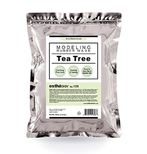 estheSKIN No.109 Tea Tree Modeling Mask Powder for Professional Facial Treatment, 35 Oz. (1 pack)