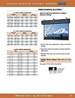Da-Lite Screen - 326IN DIAG Prof ELECTROL 電動壁MW 16:9 160X284インチ