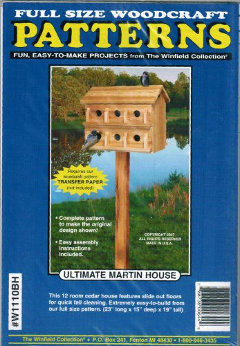 Ultimate Martin House Wood Project Plan