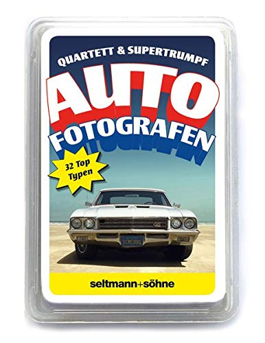 Seltmann + Shne autoquartett 01 - Contemporary car Photographers: Autofotografen Quartett & Supertrumpf