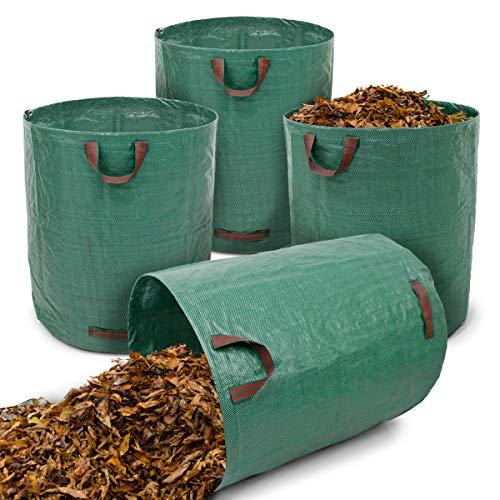 ECD Germany 4 x Bolsas Residuos Jardinería Saco desechos