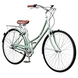 Pure City Classic Step-Through 3-Speed Bicycle, 43cm/Small, Melrose Oxblood Red