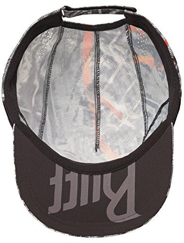 Buff Pro Run Cap Lauf Schirmmütze   UV-Schutz   Laufen   Joggen   Sportmütze   Sport-Kappy + Ultrapower Schlauchtuch   Schirmmütze R-Solid Black - 117226.999.10.00