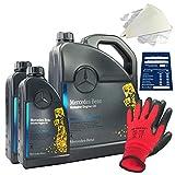 Mercedes-Benz Jeu d'huile moteur 5 W-40 MB 229.51 7 l
