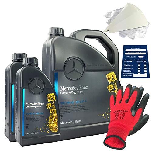 Mercedes-Benz Original Motorenöl SET 5W-40 MB 229.5 7 Liter