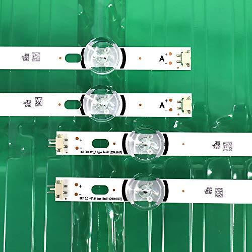 Tira de retroiluminación LED 8 Leds para LG 42 Pulgadas TV INNOTEK DRT 3.0 42'6916L 1709B 1710B 1957E 1956E 6916L-1956A