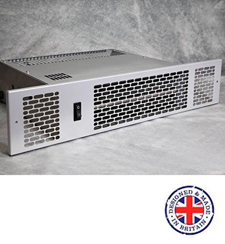Thermix KPH-2100 Niederspannung (DC) – Küchen-/Badezimmer-Standheizung – Zentralheizung – Hydronic, 2,1 kW Silber