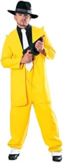 Yellow Zoot Suit Adult Costume - Standard