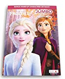 Princess Elsa and Anna Coloring and Activity Book with Bonus Stand-Up Characters on Back Cover - 80 Pages