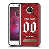 Head Case Designs sous Licence Officielle Arsenal FC Coutume Personnalisé Maison 2020/21 Kit Coque...
