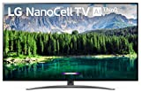 LG 49SM8600PUA Nano 8 Series 49' 4K Ultra HD Smart LED NanoCell TV (2019), Black