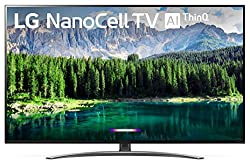 professional LG 49SM8600PUA Nano 8 Series 49 4K Ultra HD Smart LED NanoCell TV (2019), Black