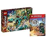 Collectix Lego Set Ninjago 71746 - Juego de figuras de dragón (cubierta blanda)