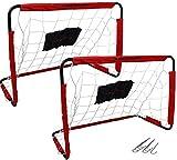 Spielwaren Klee 2 Stück Fussballtor Fußballtor Kinder Fussball Fußball Tor Fussballtore Dunlop