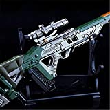Games APEX Legends 1/6 Metal Triple Take Sniper Rifle Gun Keychain Metal Model Action Figure Arts Toys Collection Party Gift