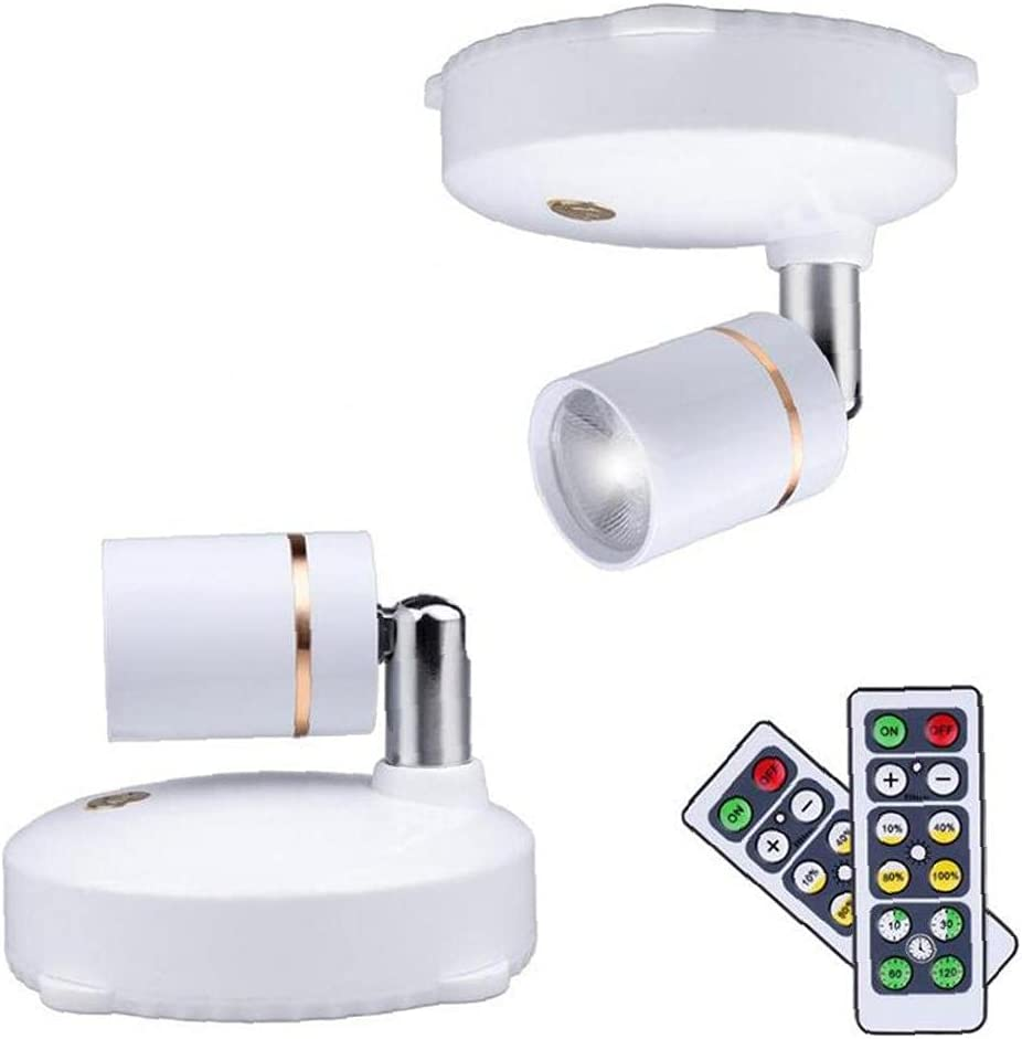 Hainice LED Wireless Spot Lights Operated Battery Max 63% Beauty products OFF Cabinet Rotata