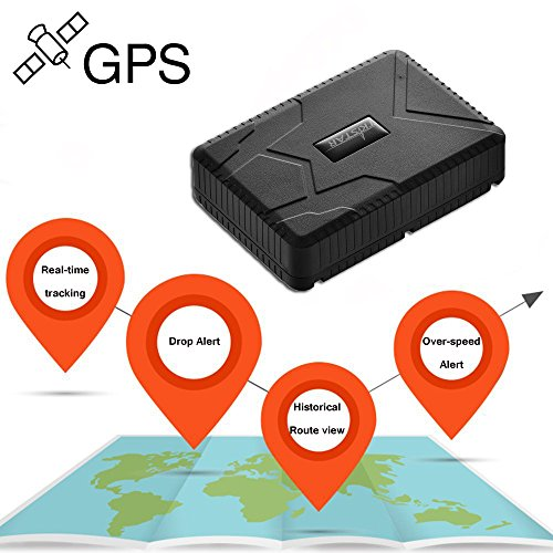 Localizzatore GPS Tracker TK915 forte magnete 10000 mah Big batteria ricaricabile / dispositivo magnetico e localizzazione globale in tempo reale per auto, moto e bagagli, contenitore, camion
