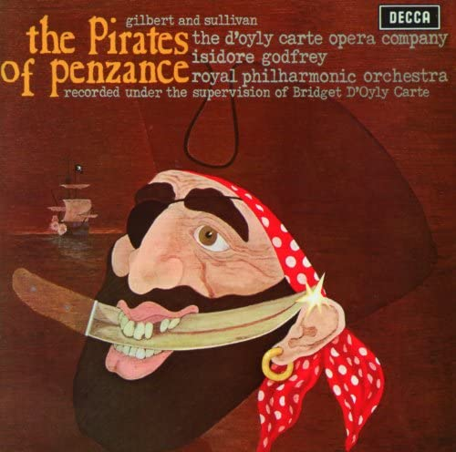 The D'Oyly Carte Opera Company, Royal Philharmonic Orchestra, Isidore Godfrey & Arthur Sullivan