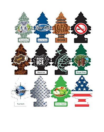 Little Trees Car Air Freshener Masculine Super Variety Pack 12