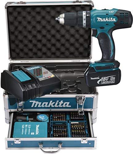 Makita DHP453RFX2 Akku-Schlagbohrschrauber inkl. Zubehörset