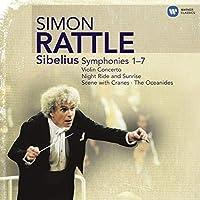 交響曲全集、ヴァイオリン協奏曲、他 ラトル&バーミンガム市交響楽団、ケネディ(ヴァイオリン)、他(5CD)