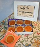 Gourmet Food Gifts! - Sweet Potato PIE / Single Serving / Each Pie is a Delicious 2 Ounces / Individually Wrapped for Freshness / Six Pies Per Attractive Box