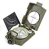 Best Lensatic Compasses - BIJIA Multifunctional Sighting Compass for Hiking,Metal Military Waterproof Review
