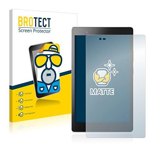 BROTECT 2X Entspiegelungs-Schutzfolie kompatibel mit Lenovo Tab3 8 Plus Bildschirmschutz-Folie Matt, Anti-Reflex, Anti-Fingerprint