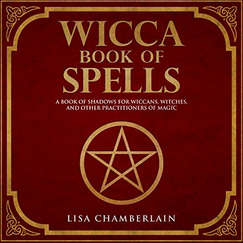 Wicca Book of Spells audiobook cover art