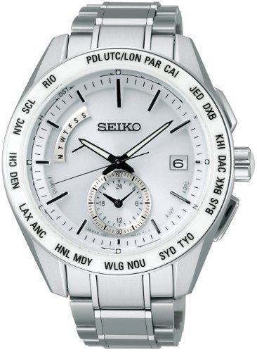[セイコーウォッチ] 腕時計 ブライツ ソーラー電波修正 サファイアガラス スーパークリア コーティング SAGA165 シルバー