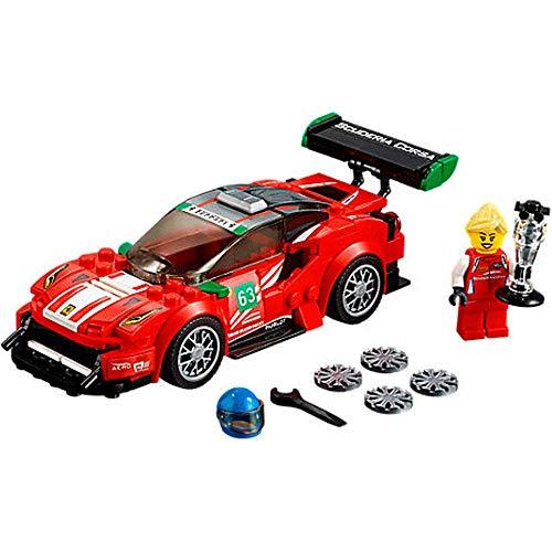 LEGO® Speed Champions Ferrari 488 GT3 Scuderia Corsa, 179 Teile
