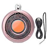 CHENQIAN Buscador de cámara portátil Detector de cámara antiespía Buscador de señal RF inalámbrico Alarma antirrobo Plata