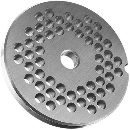 Terrarum 22 Type RVS 3/4.5/6/8/10/12mm Grinder Disc Meat Grinder Plate Disc Machinery Onderdelen - 3mm, 3mm