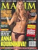 Maxim, Anna Kournikova, August 2004