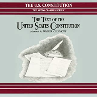 The Text of the United States Constitution cover art