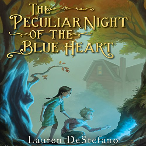 The Peculiar Night of the Blue Heart audiobook cover art