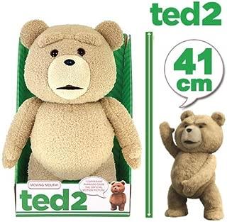 ノーブランド品 ぬいぐるみ テッド しゃべる 話す グッズ TED2 41cm(16inch) R指定版 テディベア 動物 くま クマ 人形 映画 キャラクター おもちゃ [並行輸入品]