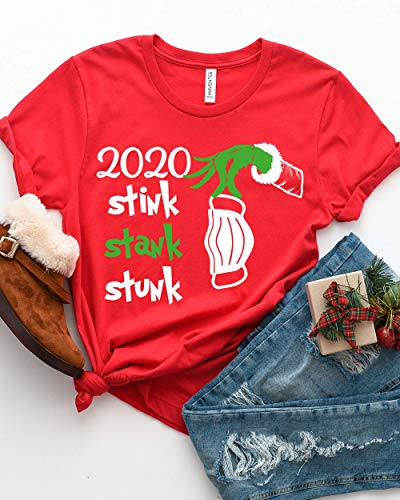 2020 Stink Stank Stunk Shirt, Christmas Shirt, 2020 Griswald Grinch Tshirt