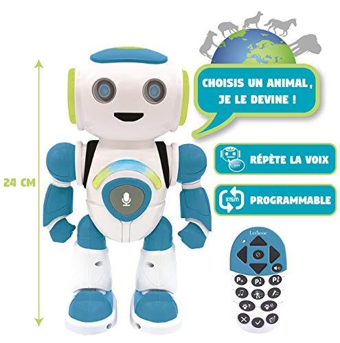 Lexibook- Powerman Jr. Robot Intelligent Qui lit...