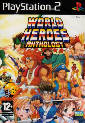 World Heroes Anthology - 4 in 1 (PS2) [Importación Inglesa]