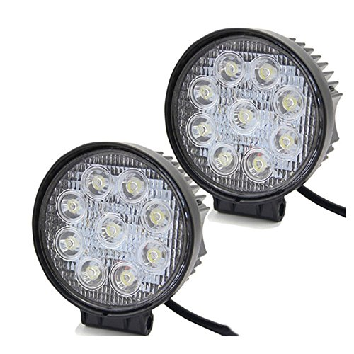 LARS360 27W LED luces de trabajo Proyectores offroad