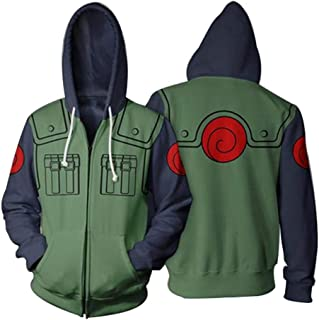 Anime 3D Printing Hoodie for Naruto Cosplay Costume