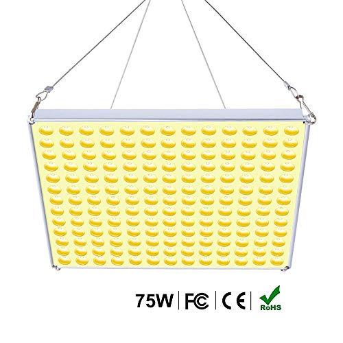 Roleadro 75W LED Coltivazione Indoor Grow Light per Grow Box/Idroponica Kit/Serra/Interno Veg Fiore Crescita