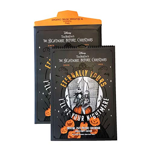 Official Nightmare Before Christmas 2021 Special Edition Calendar - A3 Special Edition With Gifting Envelope (2021 Calendar)